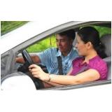 onde tem aulas para motoristas habilitados Chácara Flora